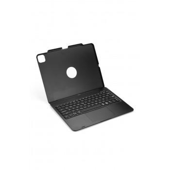 "NOUT Ipad Pro 12,9"" (4.ve 3.) Için Türkçe Q Klavye Kılıf Touchpad Trackpad Mouse"