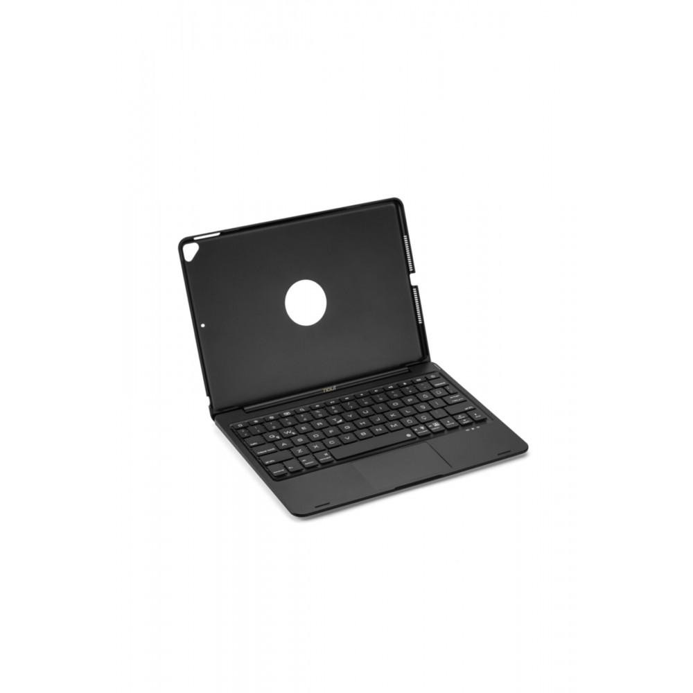 """Nout iPad 10.2"""" (7.ve 8.) Air 3.Nesil 10.5"""" için Klavye Touchpad Kılıf Türkçe Q"""